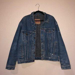 Rare Vintage Levi's Blanket Lined Trucker Jacket